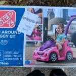Fantastic toddler toy. New .  Push around buggy GT