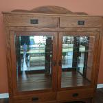 Shaker Style dining room set and hutch