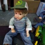 Vintage John Deere Dolls and Tractors