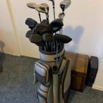 Professional Golf Clubs and Caddy