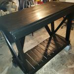 New Custom built table