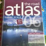 Large Rand McNally Road Atlas - $18.00