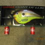 SIGNED RAPALA GIANT DT DISPLAY LURE