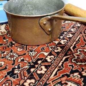 Photo of Antique Copper hanging pot