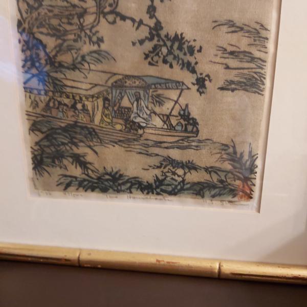 Photo of Korean Wood Cut Paintings