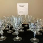 Just in time for Holidays stemware water glasses $5.00 for all