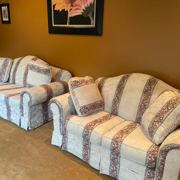 Photo of Couch and love seat