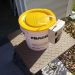 Fragile Aerator bucket