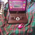 Christmas items and jewelry sale     childs computer  never used