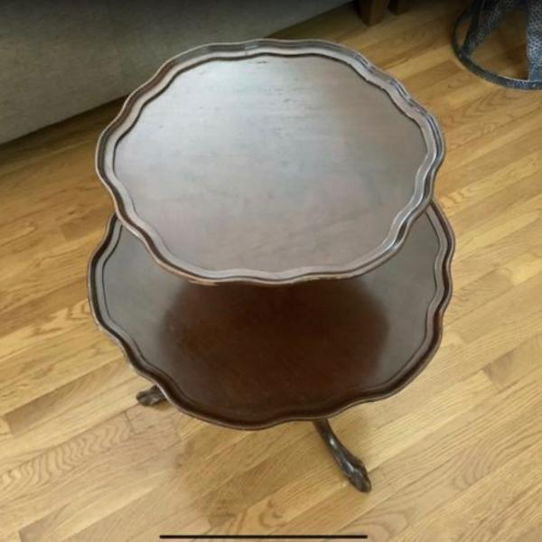 Photo of Vintage 2 tier table