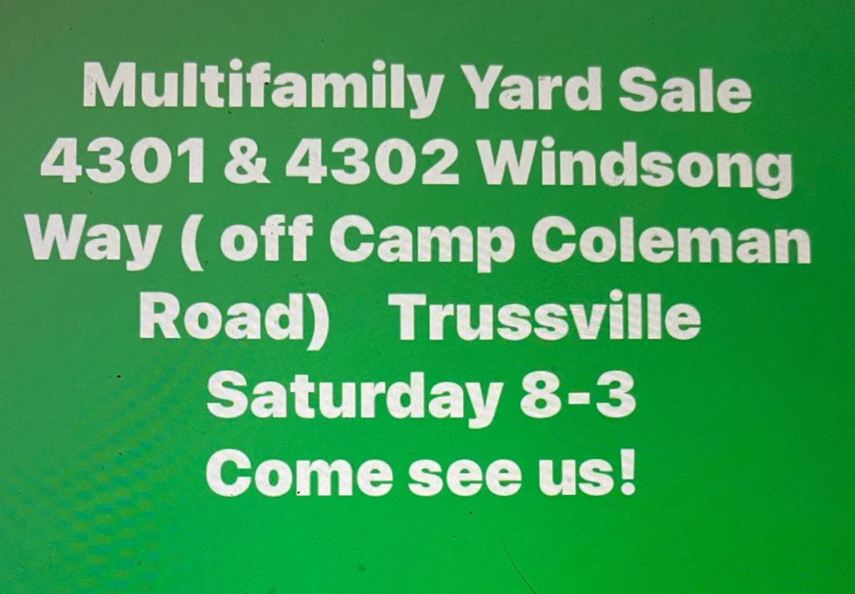 Photo 1 of Yard sale