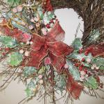 Christmas wreath - 28""