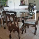 Southwest table & 4 chairs