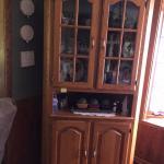 Curio/China corner cabinet