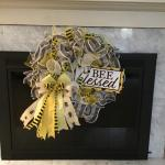 Bee Blessed Wreath