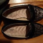 FLASH SALE $8. Cute Leopard Loafers  size 7
