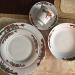 New Christmas Dinnerware Set/accessory pieces
