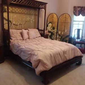 Photo of Mahogany bed