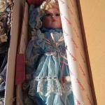Porcelain Collector Dolls in Boxes