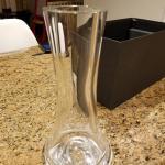 Orrefors Crystal Rose Vase