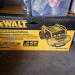 DE WALT- 4.5 Gallon AIR COMPRESSOR