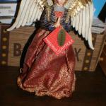 Red Jeweltone Clothique Angel