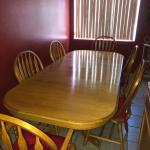 9 Piece Dining Table w Chairs