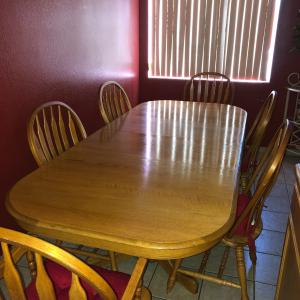 Photo of 9 Piece Dining Table w Chairs