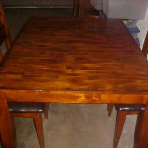 Photo of 5 PIECE DINING TABLE SET