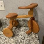Handmade wooden trike