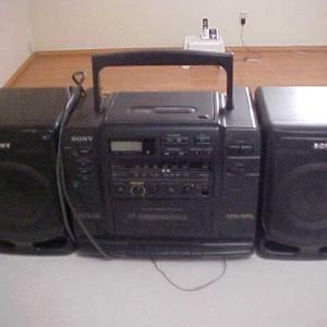 Photo of SONY CFD- 530 BOOM BOX