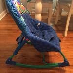 Fisher price baby rocking chair with safety belt