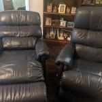 2 Leather lazy Boy Recliners
