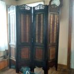 Antique room divider