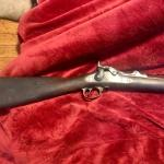 U.S. model 1884 Springfield trap door rifle good condition - complete