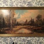 DR# - Large Vintage Landscape picture