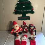 LR#430 - Feliz Navidad Tree & Stuffed Animals