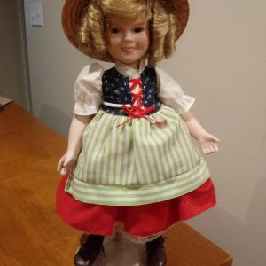 Photo of SHIRLEY TEMPLE DOLL