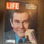 Johnny Carson on Life Magazine