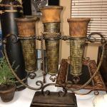 Sconce vases trio