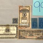 Vintage Tax Stamps