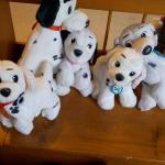 5 Dalmatian dogs..