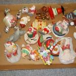 SANTA'S 3RD BOX OF XMASS ORNAMENTS.
