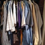LOT 314 MEN'S LARGE SIZE TOPS SHIRTS, SWEATERS