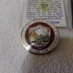 LOT 307  COLLECTIBLE COINS AND PINS