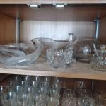 LOT 311 KITCHEN GLASSWARE, WINE GLASSES, AND MORE