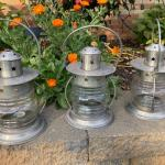 Outdoor patio lanterns