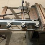 Table saw with plane
