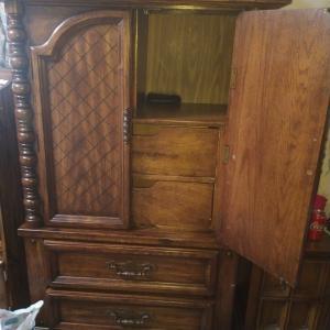 Photo of Vintage bed  for sale make offer and dresser