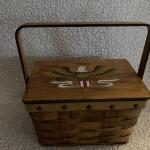 "Vintage Dritz Scovill Sewing  box basket ""'EAGLE"""